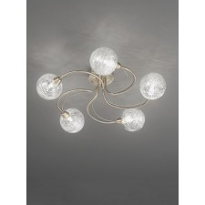 Franklite FL2328/5 Gyro 5-Light Ceiling Flush