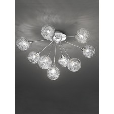 Franklite FL2329/9 Protea 9-Light Ceiling Flush