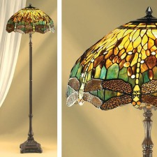 Interiors1900 Green Dragonfly Floor Lamp