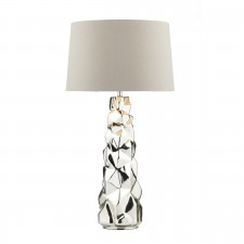 Dar Giuseppe Table Lamp Silver