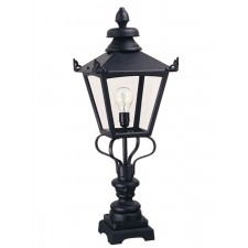 Elstead GN1 BLACK Grampian Pedestal Lantern Black