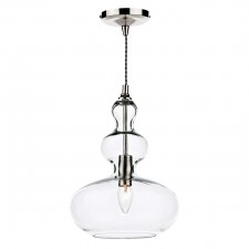 Goa 1 Light Pendant - Clear