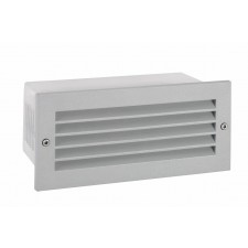 Norlys G/STAD LVD 18W G Grimstad Louvered Recessed Wall Light Graphite
