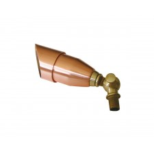 Garden Zone GZ/BRONZE9 Bronze Spot Light - Raw Copper and Brass