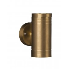 Garden Zone GZ/ELITE2 Elite Up/Down Wall Fitting - Solid Natural Brass