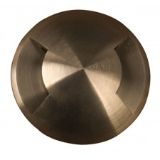 Garden Zone GZ/FUSION6 Fusion 2 Direction ring in-Ground light - Natural Solid Brass