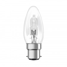 18W Halogen Candle lamp BC/B22.