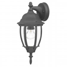 Hambro Wall Lantern - Up Lantern Black