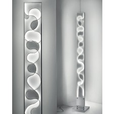 Happy LED Floor Lamp - 48W, Polished Chrome