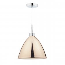 Hasana 1 Light Pendant Copper