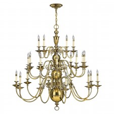 Hinkley HK/CAMBRIDGE25 Cambridge 25-Light Chandelier