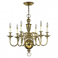 Hinkley HK/CAMBRIDGE6 Cambridge 6-Light Chandelier