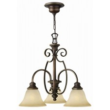 Hinkley Lighting HK/CELLO3 Cello 3 - Light Chandelier