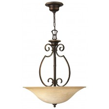 Hinkley Lighting HK/CELLO/P/B Cello 3 - Light Chandelier
