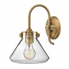 Hinkley HK/CONGRES1/A BC Congress Clear Glass Wall Light