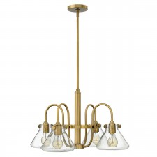 Hinkley HK/CONGRES4/A BC Congress Clear Glass Chandelier