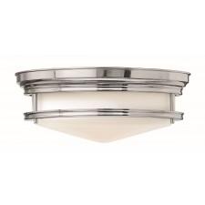 Hinkley Lighting HK/HADLEY/F CM Hadley 3 - Light Flush Light Chrome