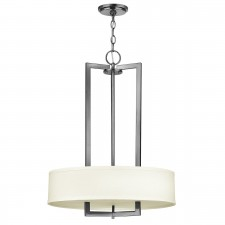 Hinkley HK/HAMPTON/P/B Hampton 3-Light Pendant Chandelier