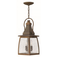 Hinkley Lighting HK/MONTAUK CHAIN Montauk 2 - Light Chain Lantern