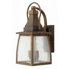 Hinkley Lighting HK/MONTAUK M Montauk 2 - Light Small Wall Lantern