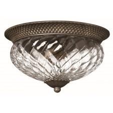 Hinkley Lighting HK/PLANT/F/L PZ Plantation 3 - Light Large Flush Light Pearl Bronze