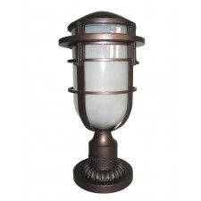 Hinkley Lighting HK/REEF3 VZ Reef 1 - Light Pedestal Victorian Bronze