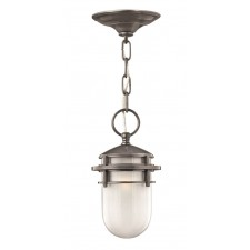 Hinkley Lighting HK/REEF8 HE Reef 1 - Light Chain Lantern Hematite