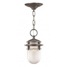 Hinkley Lighting HK/REEF8 HE Reef 1 - Light Chain Lantern Hematite