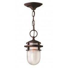 Hinkley Lighting HK/REEF8 VZ Reef 1 - Light Chain Lantern Victorian Bronze