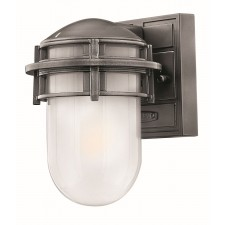Hinkley Lighting HK/REEF/MINI HE Reef Mini 1 - Light Lantern Hematite
