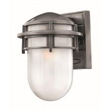 Hinkley Lighting HK/REEF/SM HE Reef Small 1 - Light Lantern Hematite