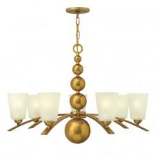Hinkley Lighting HK/ZELDA7 VS Zelda 7 - Light Chandelier Vintage Brass