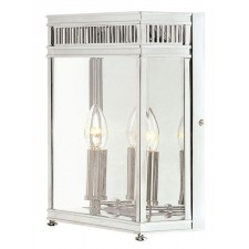 Elstead HL7/M PC Holborn Half Lantern Medium Polished Chrome