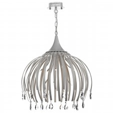 Hoxton 8 Light Pendant White