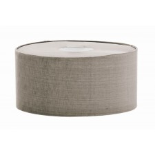 Harlequin Lighting HQ/CY33-2134 Manhattan Pewter 30cm Cylinder Shade