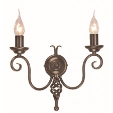 Elstead HR2A BRONZE Harlech 2 - Light Wall Light Bronze