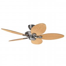 Hunter Outdoor Fan in Elements II Raw Aluminum