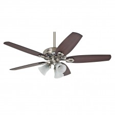 Hunter Builder Fan in Plus Brushed Nickel