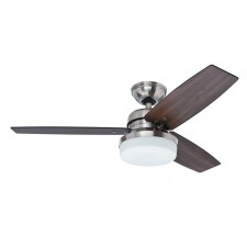 Hunter Galileo Fan in Brushed Nickel