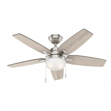 Hunter Arcot Fan in Brushed Nickel