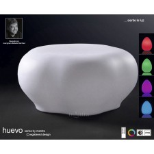 Huevo Stool Rechargable LED RGB Outdoor IP65