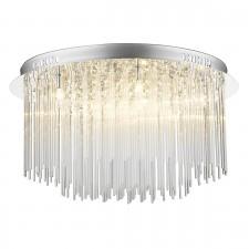 Icicle Ceiling Light - 8 Light Flush