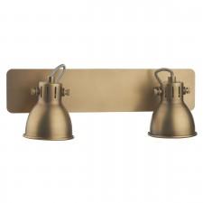 Idaho 2 Light Bar Spot GU10 Antique Brass