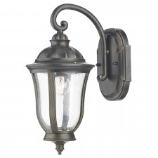 Johnson Wall Light - IP44 Black/Gold