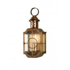 Elstead KENNINGTON BR Kennington Wall Lantern Brass