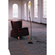 Kingston Floor Lamp - 1 Light, Antique Brown