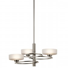 Kichler KL/ALEEKA3 Aleeka 3-Light Chandelier