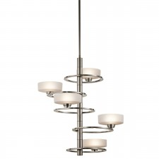 Kichler KL/ALEEKA5A Aleeka 5-Light Chandelier