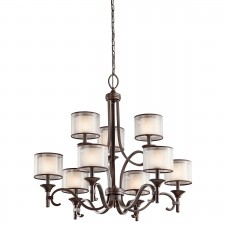 Kichler KL/LACEY9 MB Lacey 9-Light Chandelier