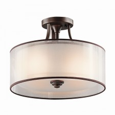 Kichler KL/LACEY/SF MB Lacey Small Semi-Flush Mount